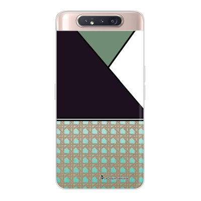 Coque Samsung Galaxy A80 360 intégrale transparente Canage vert Ecriture Tendance Design La Coque Francaise.