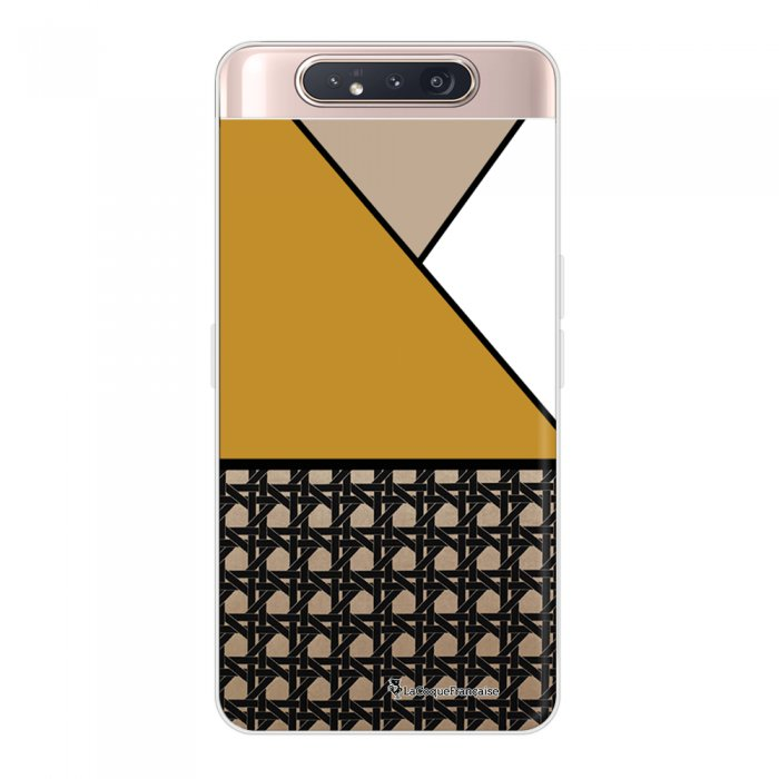 Coque Samsung Galaxy A80 360 intégrale transparente Canage moutarde Ecriture Tendance Design La Coque Francaise.
