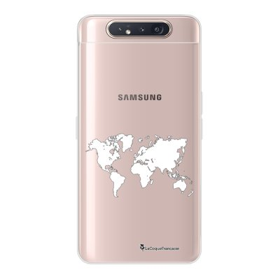 Coque Samsung Galaxy A80 360 intégrale transparente Carte Ecriture Tendance Design La Coque Francaise.