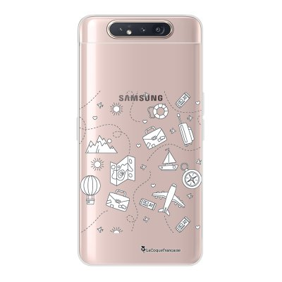 Coque Samsung Galaxy A80 360 intégrale transparente Aventure Ecriture Tendance Design La Coque Francaise.