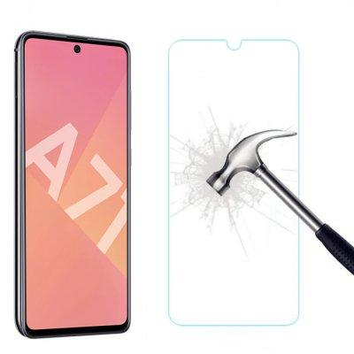 Vitre Samsung Galaxy A71 de protection en Verre trempé