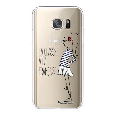 Coque Samsung Galaxy S7 360 intégrale transparente Classe Ecriture Tendance Design La Coque Francaise.