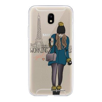 Coque Samsung Galaxy J5 2017 souple transparente Working girl Motif Ecriture Tendance La Coque Francaise