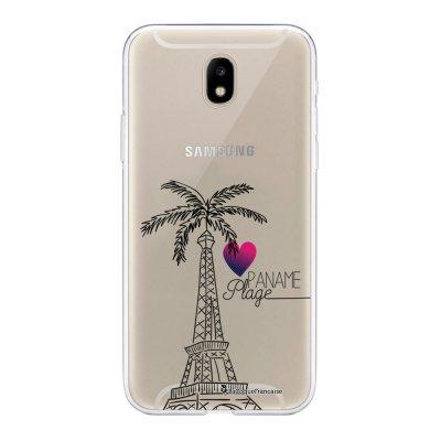 Coque Samsung Galaxy J5 2017 souple transparente Paname plage Motif Ecriture Tendance La Coque Francaise