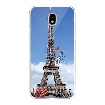 Coque Samsung Galaxy J5 2017 souple transparente Love Paris Motif Ecriture Tendance La Coque Francaise