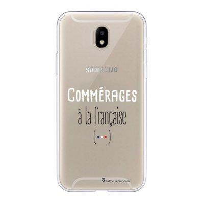 Coque Samsung Galaxy J5 2017 souple transparente Commerages Motif Ecriture Tendance La Coque Francaise