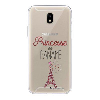 Coque Samsung Galaxy J5 2017 souple transparente Princesse de Paname Motif Ecriture Tendance La Coque Francaise
