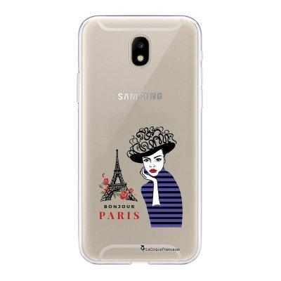 Coque Samsung Galaxy J5 2017 souple transparente Madame à Paris Motif Ecriture Tendance La Coque Francaise