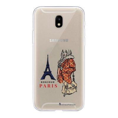 Coque Samsung Galaxy J5 2017 souple transparente School Girl à Paris Motif Ecriture Tendance La Coque Francaise