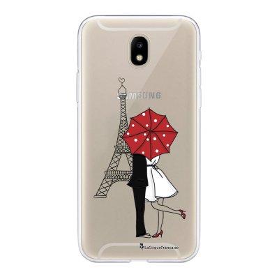 Coque Samsung Galaxy J5 2017 souple transparente Amour à Paris Motif Ecriture Tendance La Coque Francaise