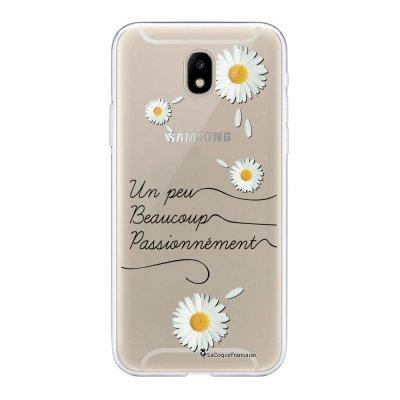 Coque Samsung Galaxy J5 2017 souple transparente Un peu beaucoup Motif Ecriture Tendance La Coque Francaise