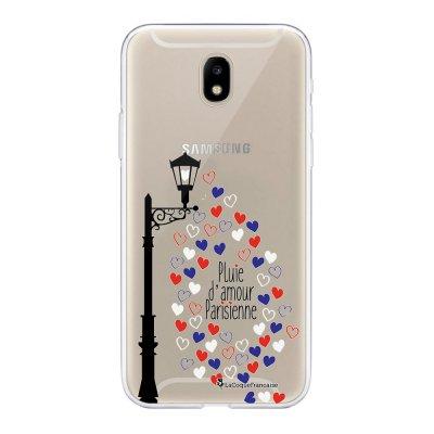 Coque Samsung Galaxy J5 2017 souple transparente Pluie amour Motif Ecriture Tendance La Coque Francaise