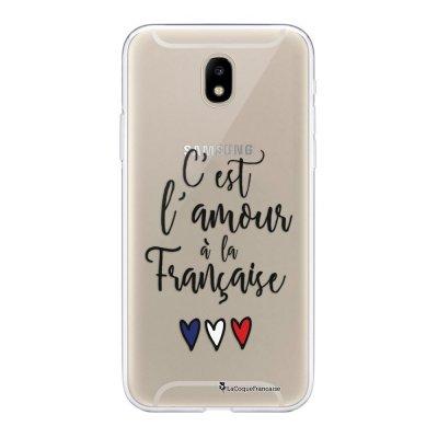 Coque Samsung Galaxy J5 2017 souple transparente C'est l'amour Motif Ecriture Tendance La Coque Francaise