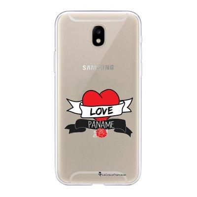 Coque Samsung Galaxy J5 2017 souple transparente Love Paname Motif Ecriture Tendance La Coque Francaise
