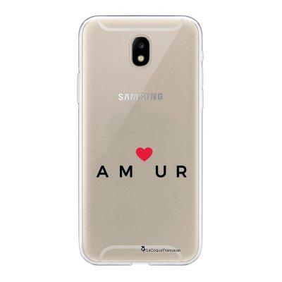 Coque Samsung Galaxy J5 2017 souple transparente Amour_coeur Motif Ecriture Tendance La Coque Francaise