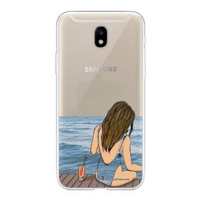 Coque Samsung Galaxy J5 2017 souple transparente Au bord de l'eau Motif Ecriture Tendance La Coque Francaise