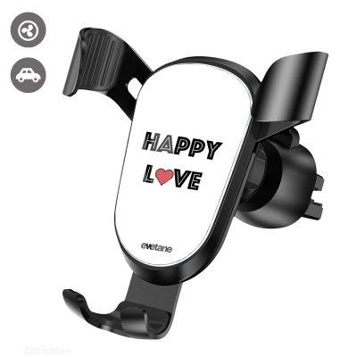 Support téléphone voiture Happy Love Evetane