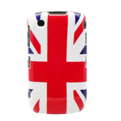 Coque de Protection Compatible BlackBerry 8520/ 9300 Drapeau Angleterre