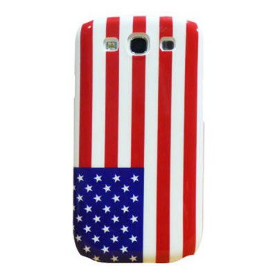 Coque de Protection Compatible Samsung i9300 Galaxy SIII Drapeau USA
