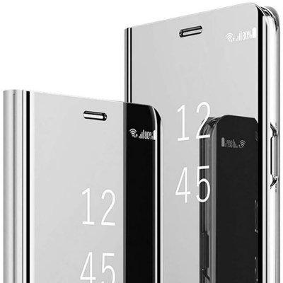 Etui iPhone 7/8/SE 2020 folio easy view Argent