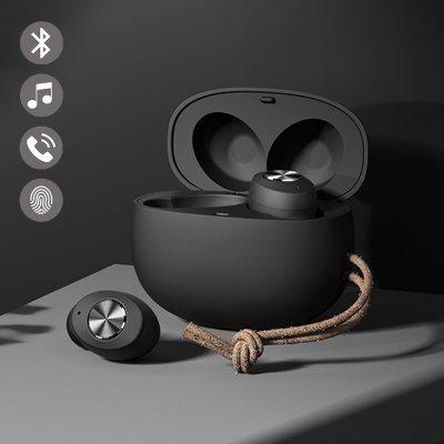 Ecouteurs Bluetooth Noir avec réduction de bruit
