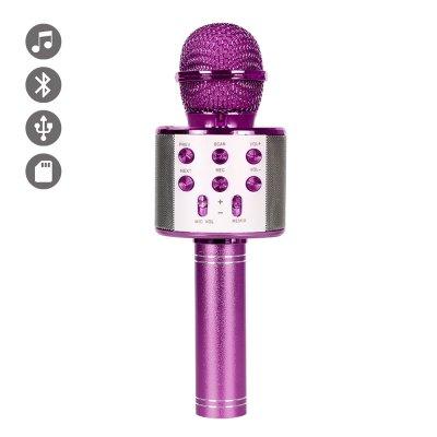 Micro Karaoké bluetooth Violet