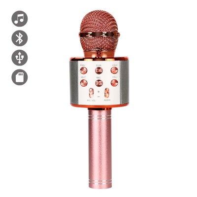 Micro Karaoké bluetooth Rose Gold
