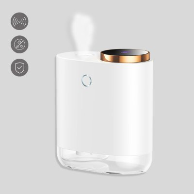 Distributeur automatique de désinfectectant avec détecteur infrarouge Blanc