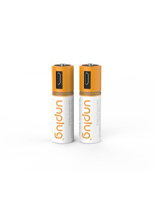 Unplug Rechargeable Battery Serie Aa // Pack 2-cable Double  Micro Usb