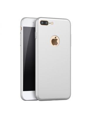 Coque TPU effet metal argent pour iPhone 7 Plus