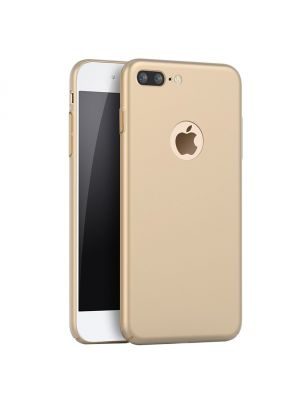 Coque TPU effet metal or pour iPhone 7 Plus