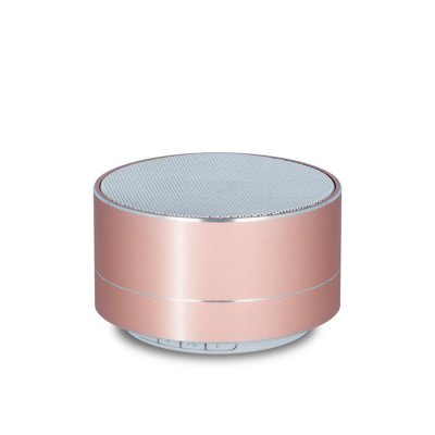 Enceinte Bluetooth 3W - Or Rose