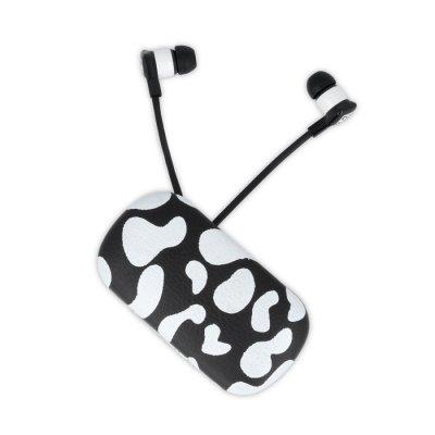 Écouteurs avec prise Jack 3,5 mm pour Smartphones et Tablettes - Motif animal