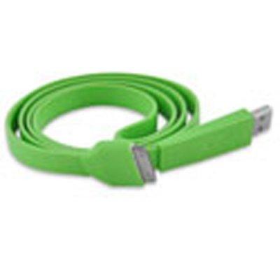 Câble data USB Fashion vert pour Apple iPhone - Transfert et chargement