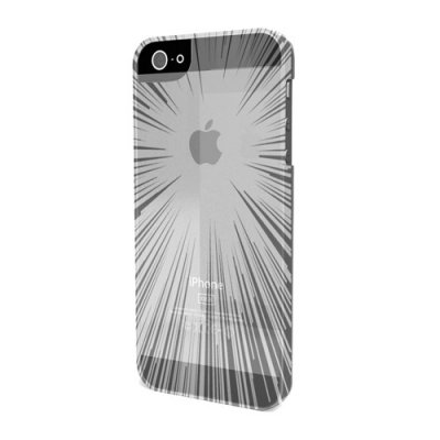 Coque minigel flexy speedlight transparente pour iPhone 5 avec film