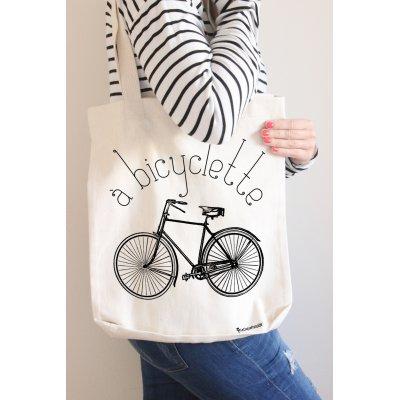 Tote bag Bicyclette