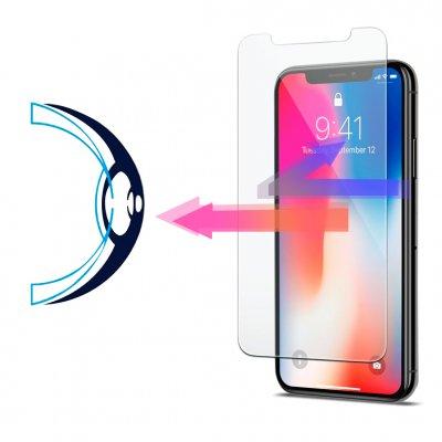 Vitre iPhone 12 Pro Max  de protection en verre trempé anti-lumière bleue
