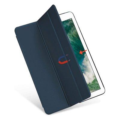 Etui de protection pour iPad 9,7 A1673-A1674-A1674-A1822-A1823-A1566-A1567- A1893-A1954-A1474-A1475-A1476  -  Bleu
