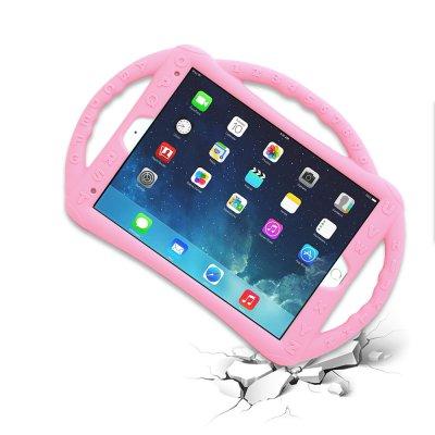 Housse de protection silicone renforcée rose pour Enfants  Compatible iPad 9,7