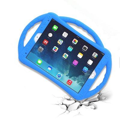 Housse de protection silicone renforcée Bleu pour Enfants  Compatible iPad 2/3/4