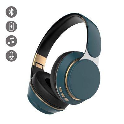 Casque Bluetooth Bleu