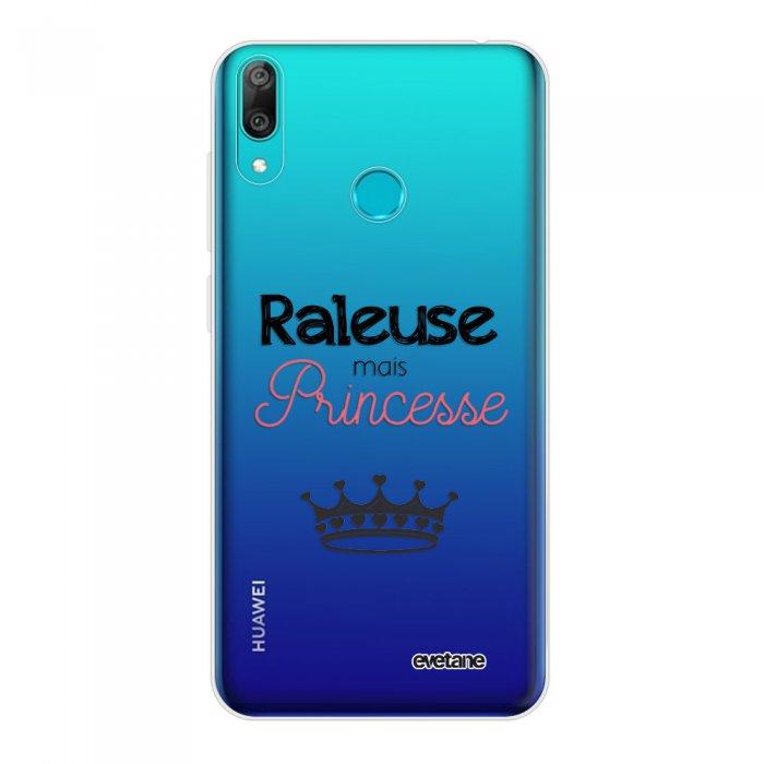 Coque Huawei Y7 2019 360 intégrale transparente Raleuse mais princesse Tendance Evetane.