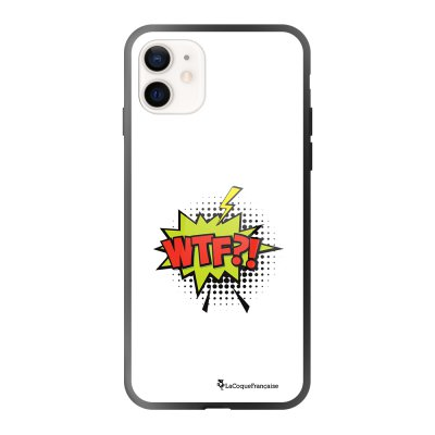 Coque iPhone 12 Mini WTF Design La Coque Francaise