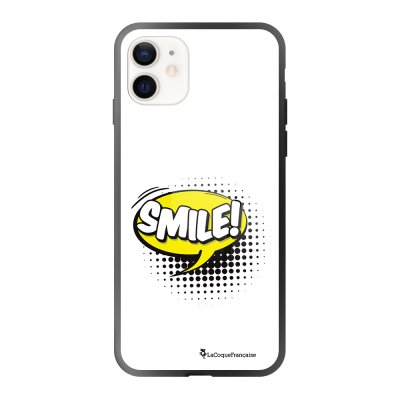 Coque iPhone 12 Mini SMILE Design La Coque Francaise
