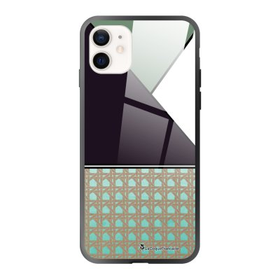 Coque iPhone 12 Mini Canage vert Design La Coque Francaise