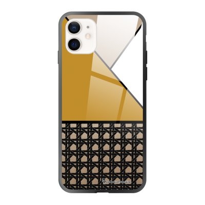 Coque iPhone 12 Mini Canage moutarde Design La Coque Francaise