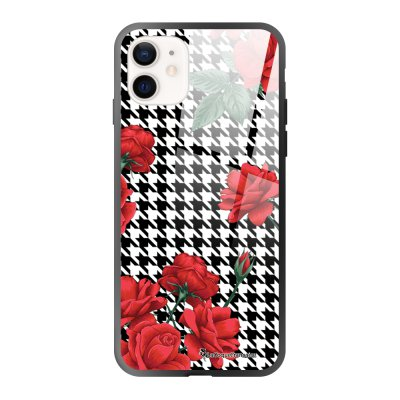 Coque iPhone 12 Mini Pied de poule Design La Coque Francaise