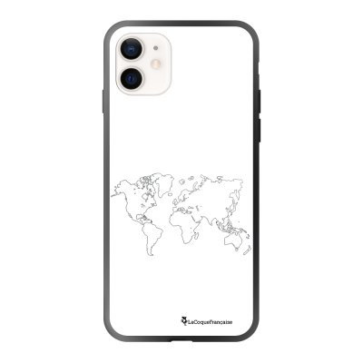 Coque iPhone 12 Mini Carte Design La Coque Francaise