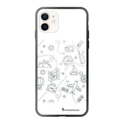 Coque iPhone 12 Mini Aventure Design La Coque Francaise
