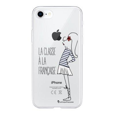 Coque iPhone 7/8/ iPhone SE 2020 360 intégrale transparente Classe Tendance La Coque Francaise.
